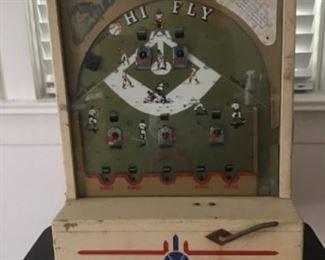 Hi Fly Baseball game, coin op