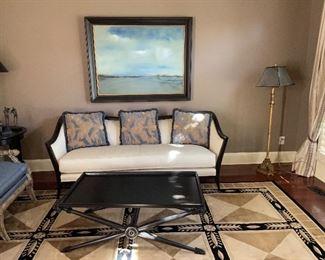 Upholstered Sofa by Swaim