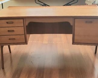 1960 Mid-Century desk made in Denmark. Designed by architect Svend and Madsen.