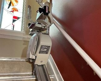 Acorn Superglide -13 stairlift (standard straight stairs - 13 steps with a 300-pound limit)
