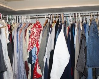 nice mens clothes, mostly large and 42