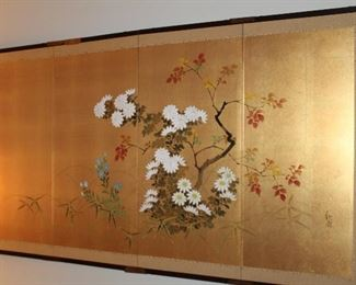 Japanese Byobu.