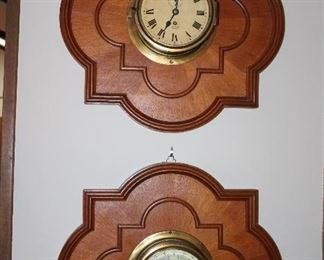 chip's clock and barometer