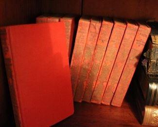 """complete ten-volume set """"Mental Efficiency Series"""""""