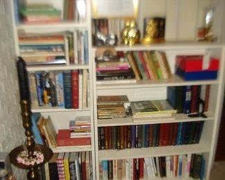Indian tall candle stick, books , films
