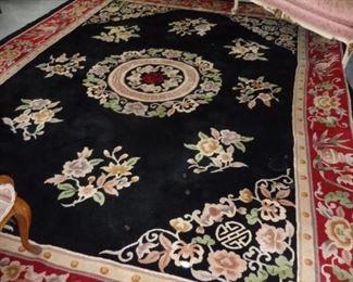 Large 9x12 Oriental rug