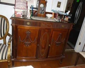 Fabulous small antique sideboard
