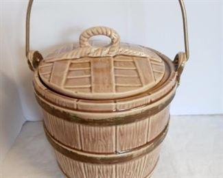 1950s McCoy Pail Cookie Jar