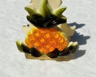 Acrylic Pineapple Napkin Holder