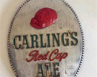 Antique Carlings Brewery Plaque