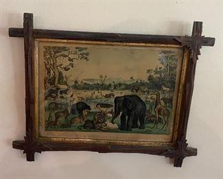 Currier & Ives in Original Frame 1875
