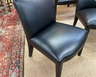 Donghia Leather dining chiar