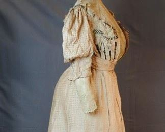 WORSTED COTTON 2 PIECE WALKING SUIT 1893
