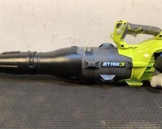 Located in: Chattanooga, TN MFG Ryobi Model RY25AXBVNM Ser# LT21093D150135 Power (V-A-W-P) 25cc 2 Cycle Gas Jet Fan Blower Tested- Works Missing Gas Cap **Sold As Is Where Is**