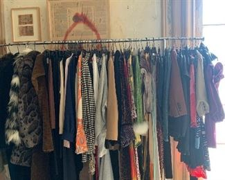 DESIGNER CLOTHING: Marc Jacob, Dolce and Gabbana, J Crew, Ultimo, Furs, Jimmy Choo, Gucci and accessories