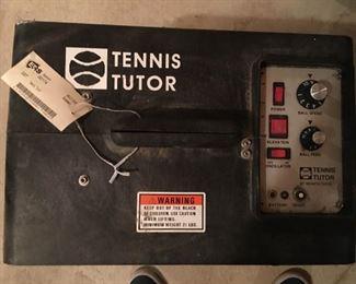 Tennis Tutor Ball Shooter