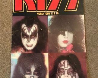 Kiss Concert Book 1977/78