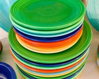 Fiesta Dinner Plates & Luncheon Plates