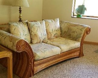 1 of 2 Bamboo couches