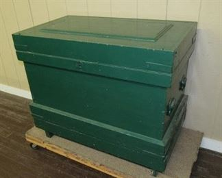 Painted Carpenters Chest