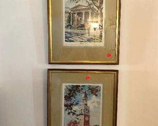 UNC Chapel Hill framed prints