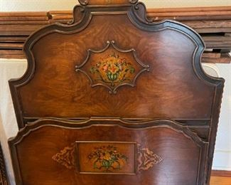 Hand-painted twin beds (2)