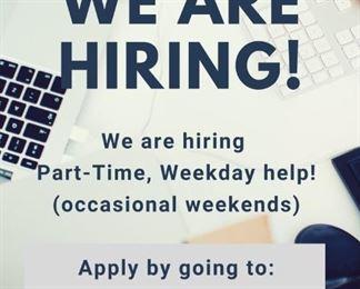 Paxem hiring weekedays