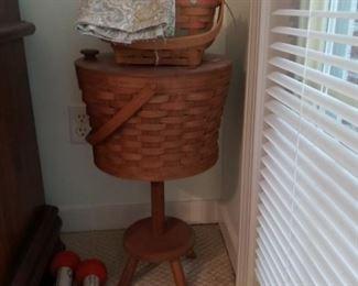 Longaberger Sewing Basket