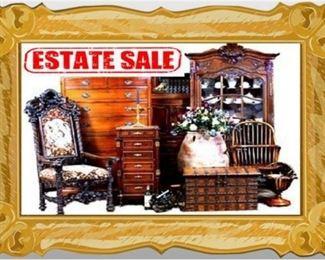Aunt's Treasured Possessions ~ Online Estate Sale