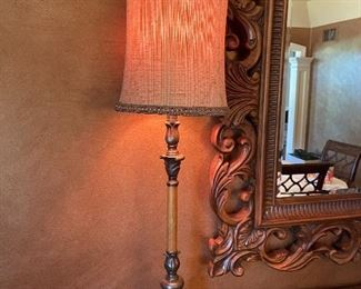 Pair of buffet style lamps