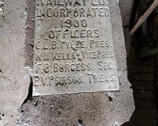Concrete & Marion Railway Co incorporated 1900