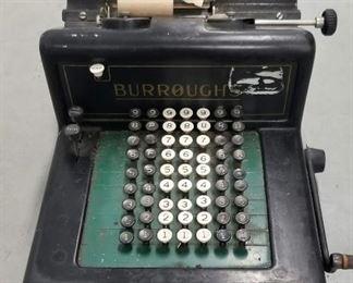 Antique Adding Machine, 1909