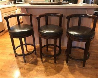 Bernhardt swivel bar stools