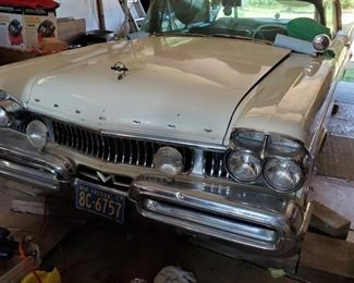 1957 Mercury Turnpike Cruiser  Show car for a long time....
