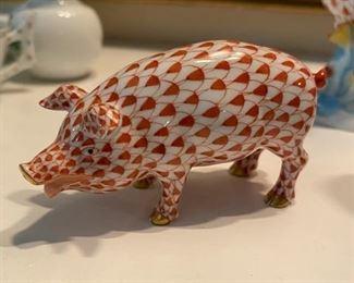 Herend Pig