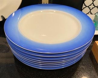 """Set of 8 Lynn Chase """"Accents"""" Plates"""