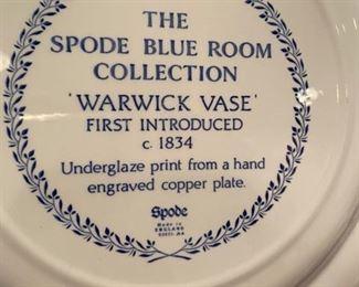 "Spode ""Blue Room"""