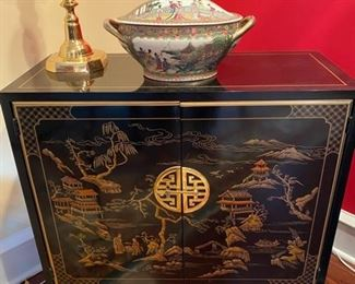 Lacquered Cabinet
