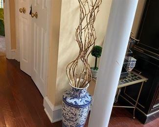 Blue & Whiter Floor Vase