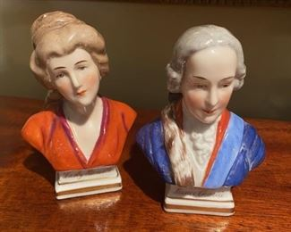 Porcelain Busts