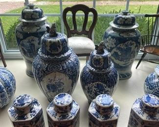 Delft and other Jars