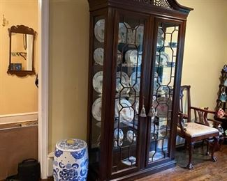 Chippendale China/Display Cabinet