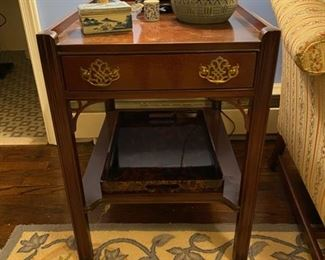 Hickory End Table - 1 of 2