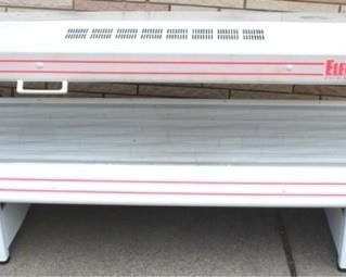 """1 - Electric Sun Power Tanning Bed Model PTS-16-30 80"""" x 28"""" x 30"""" Works - bulbs have only 4 hours of use"""