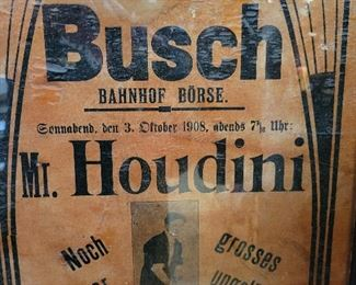 Original Houdini performing LIVE at Circus Busch in 1908