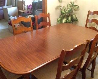 6 Chair Dining Room Table