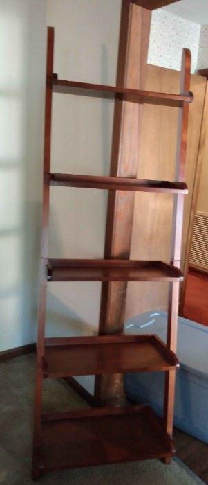 76in Tall Wooden Bookshelf