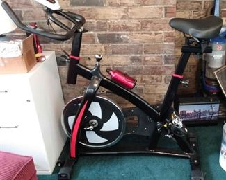 Costway Home Use Exercise Bike with Extras