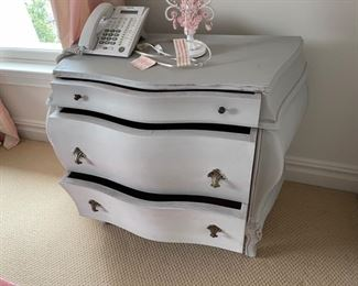 cabinet with three draws in gray