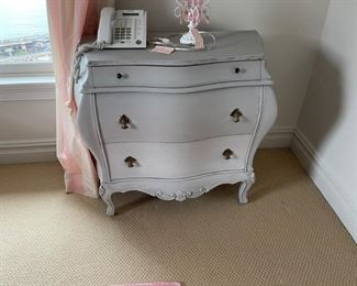 pink bombay cabinet 34 x33x16